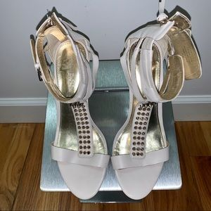 Guess Leather Heeled Sandals